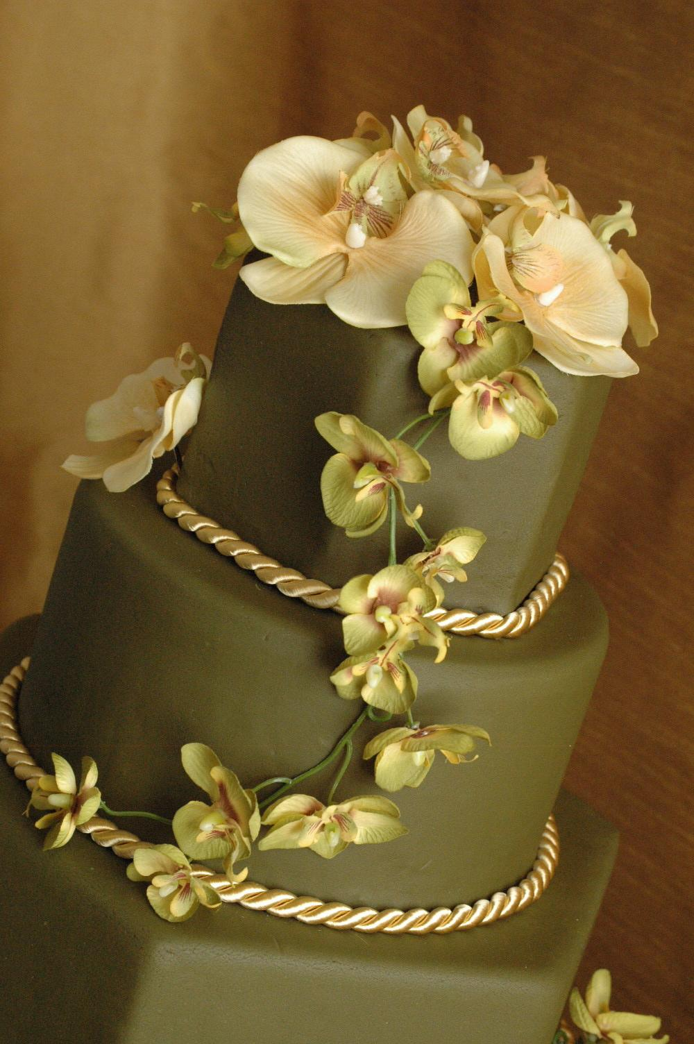 Zelené torty inšpirácie - Obrázok č. 64