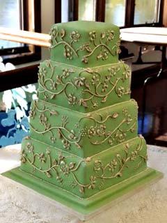 Zelené torty inšpirácie - Obrázok č. 65