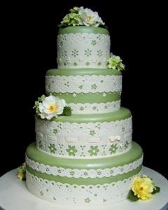 Zelené torty inšpirácie - Obrázok č. 66