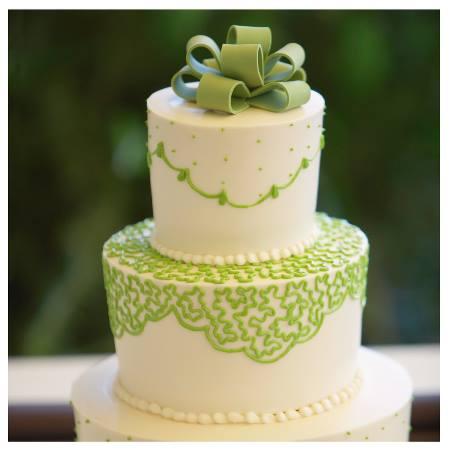 Zelené torty inšpirácie - Obrázok č. 68