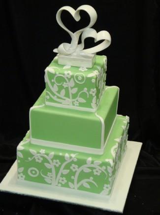 Zelené torty inšpirácie - Obrázok č. 69