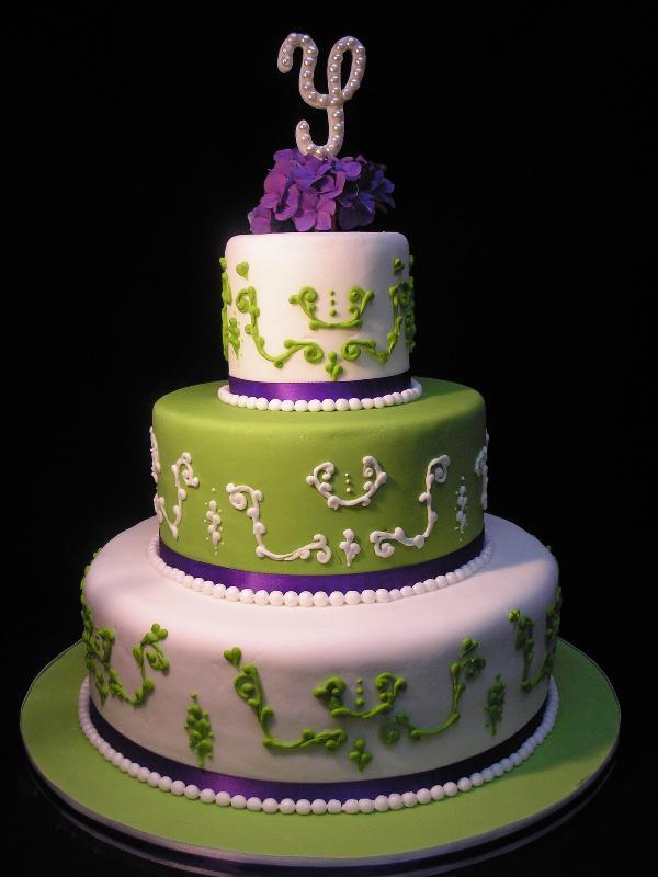 Zelené torty inšpirácie - Obrázok č. 70