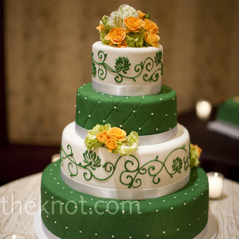 Zelené torty inšpirácie - Obrázok č. 72