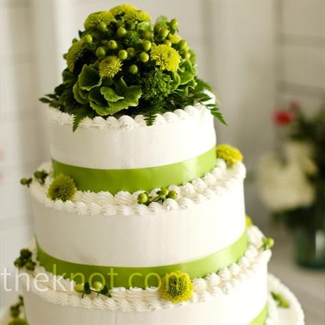 Zelené torty inšpirácie - Obrázok č. 73