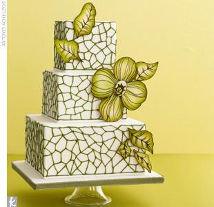 Zelené torty inšpirácie - Obrázok č. 78