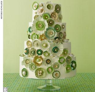 Zelené torty inšpirácie - Obrázok č. 79