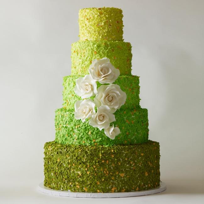 Zelené torty inšpirácie - Obrázok č. 80