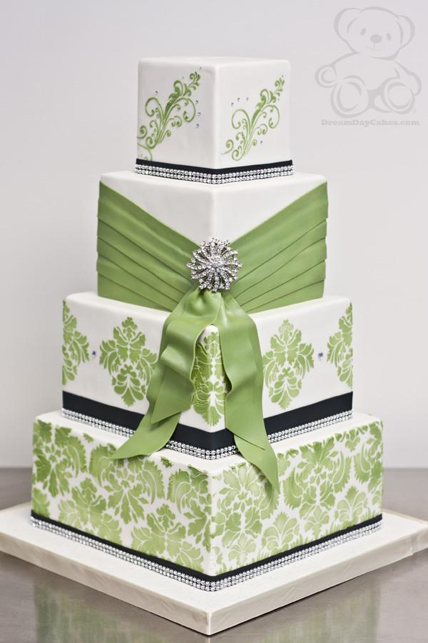 Zelené torty inšpirácie - Obrázok č. 81