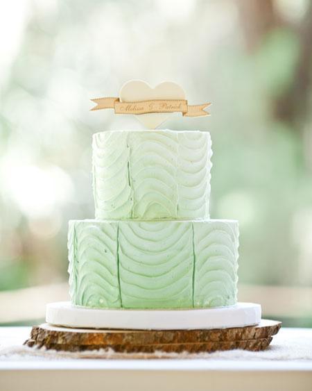 Zelené torty inšpirácie - Obrázok č. 83