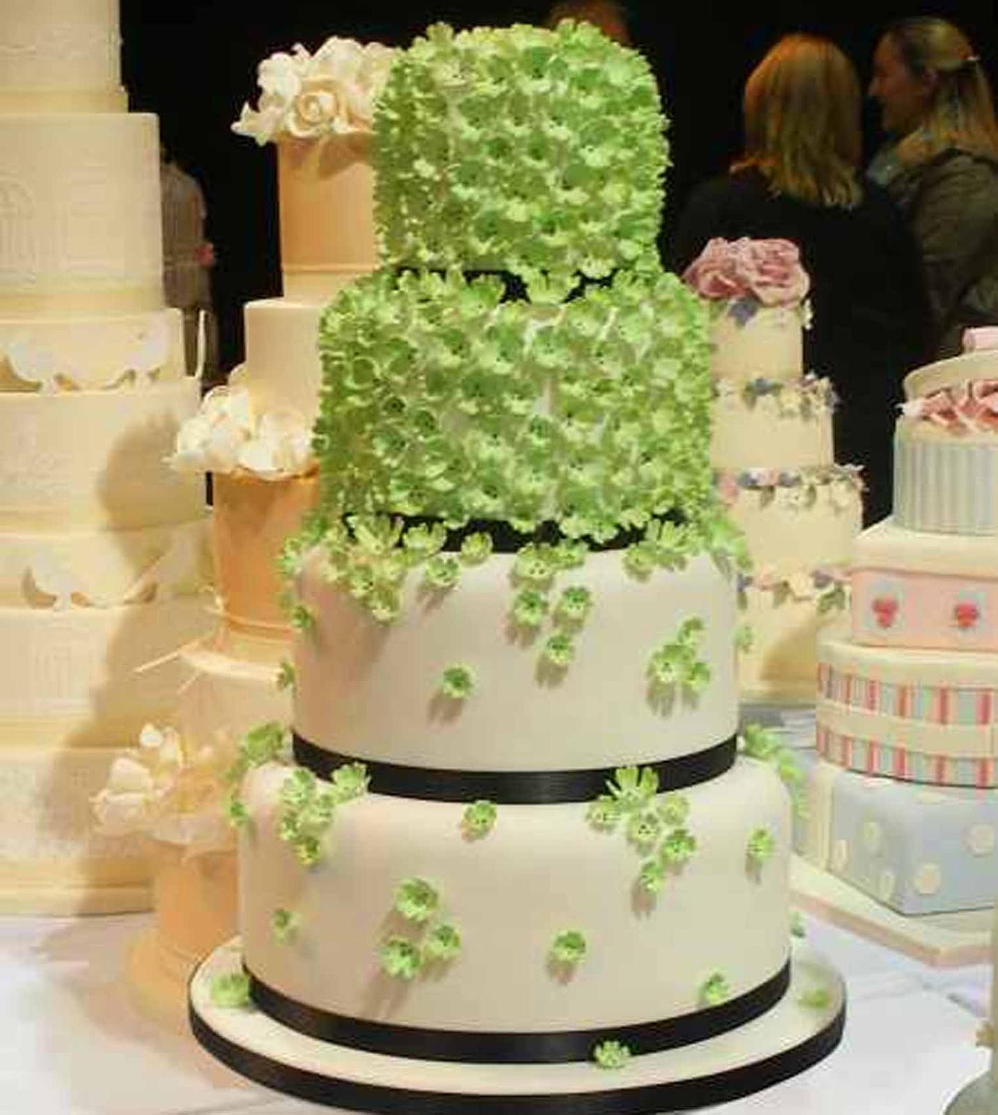 Zelené torty inšpirácie - Obrázok č. 86