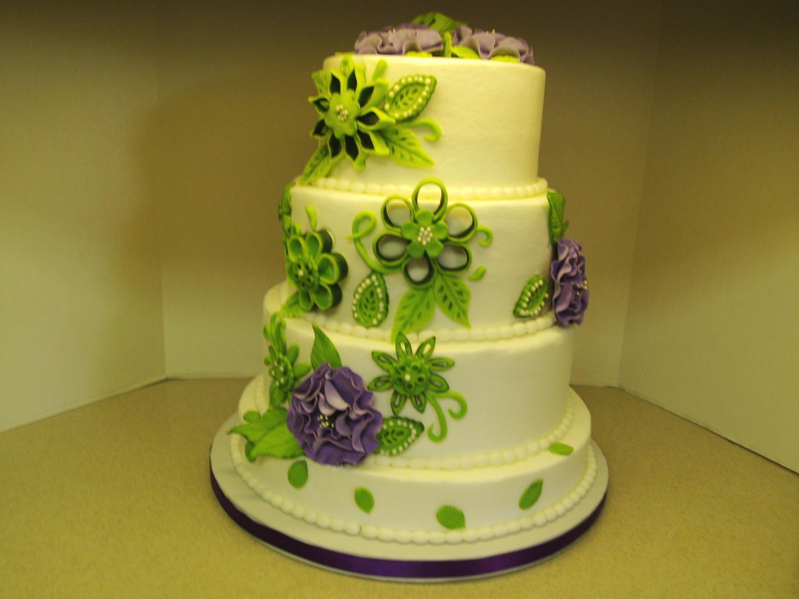 Zelené torty inšpirácie - Obrázok č. 87