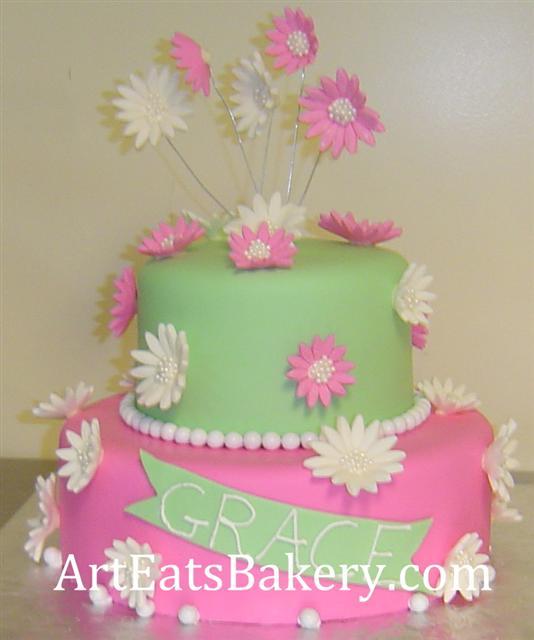 Zelené torty inšpirácie - Obrázok č. 88