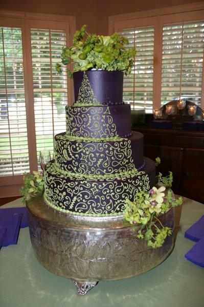 Zelené torty inšpirácie - Obrázok č. 89