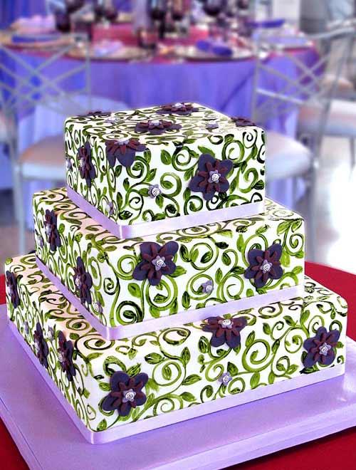 Zelené torty inšpirácie - Obrázok č. 91