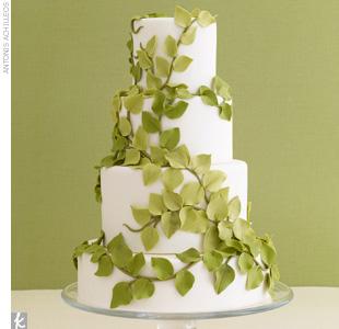 Zelené torty inšpirácie - Obrázok č. 94