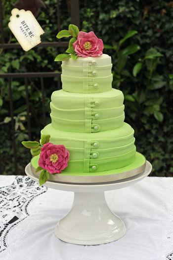 Zelené torty inšpirácie - Obrázok č. 95