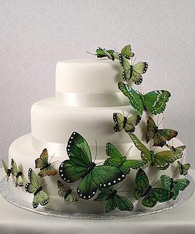 Zelené torty inšpirácie - Obrázok č. 96