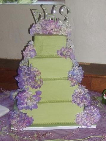 Zelené torty inšpirácie - Obrázok č. 99