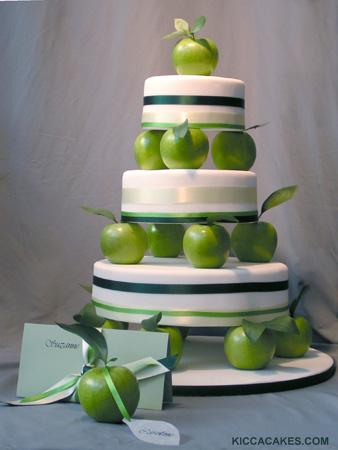 Zelené torty inšpirácie - Obrázok č. 100