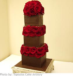 Červené torty inšpirácie - Obrázok č. 6