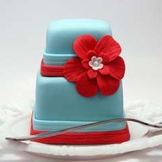 Červené torty inšpirácie - Obrázok č. 7