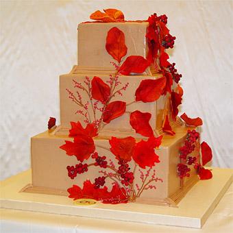 Červené torty inšpirácie - Obrázok č. 11