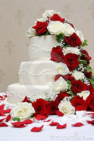 Červené torty inšpirácie - Obrázok č. 38