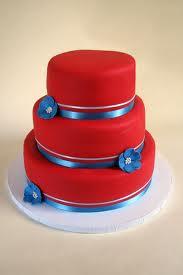 Červené torty inšpirácie - Obrázok č. 43