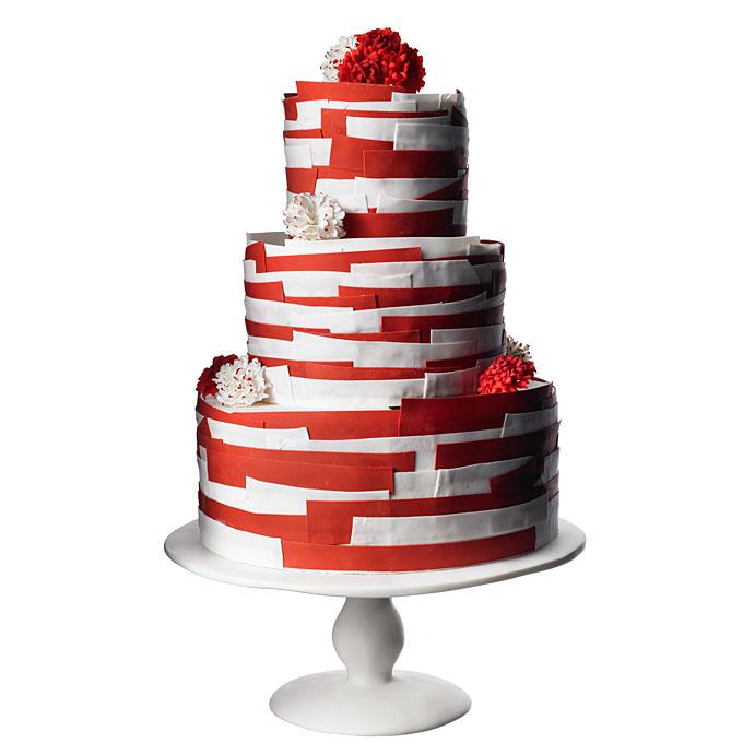 Červené torty inšpirácie - Obrázok č. 47
