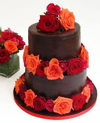 Červené torty inšpirácie - Obrázok č. 52