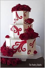 Červené torty inšpirácie - Obrázok č. 55
