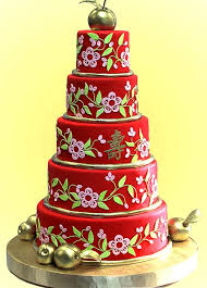 Červené torty inšpirácie - Obrázok č. 56