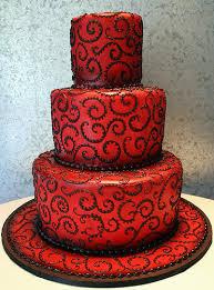 Červené torty inšpirácie - Obrázok č. 89