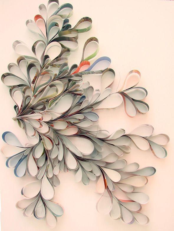 Papierové dekorácie inšpirácie - Obrázok č. 49