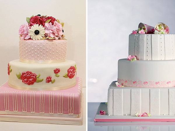 Ružové torty inšpirácie - Obrázok č. 77