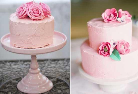 Ružové torty inšpirácie - Obrázok č. 78