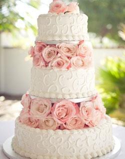 Ružové torty inšpirácie - Obrázok č. 80