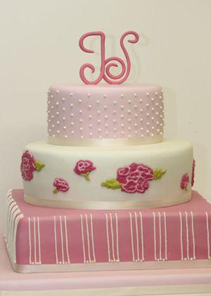 Ružové torty inšpirácie - Obrázok č. 81