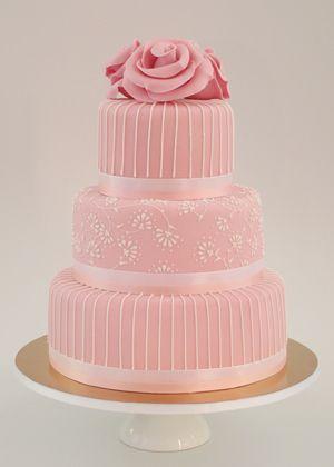 Ružové torty inšpirácie - Obrázok č. 85