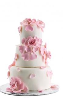 Ružové torty inšpirácie - Obrázok č. 86