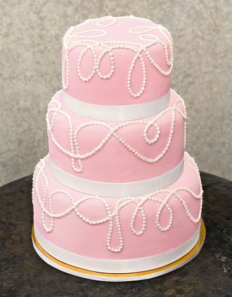 Ružové torty inšpirácie - Obrázok č. 98