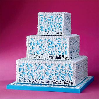 Modré torty inšpirácie - Obrázok č. 9