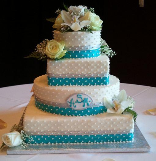 Modré torty inšpirácie - Obrázok č. 10