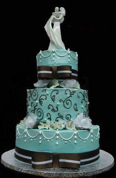 Modré torty inšpirácie - Obrázok č. 11