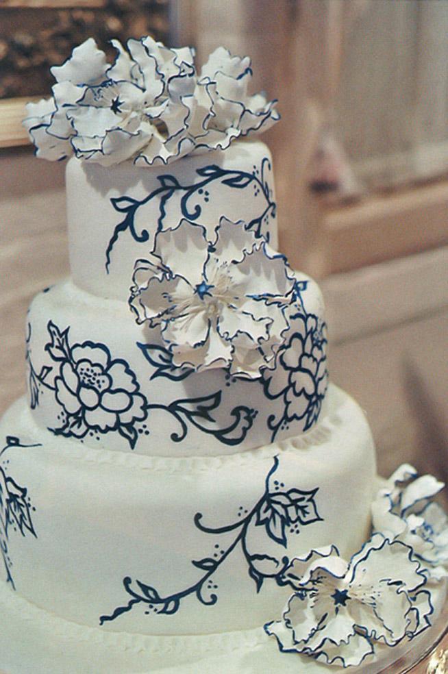 Modré torty inšpirácie - Obrázok č. 12