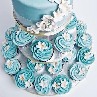 Modré torty inšpirácie - Obrázok č. 17