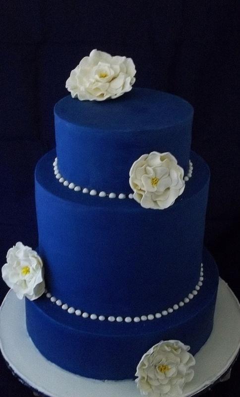 Modré torty inšpirácie - Obrázok č. 18