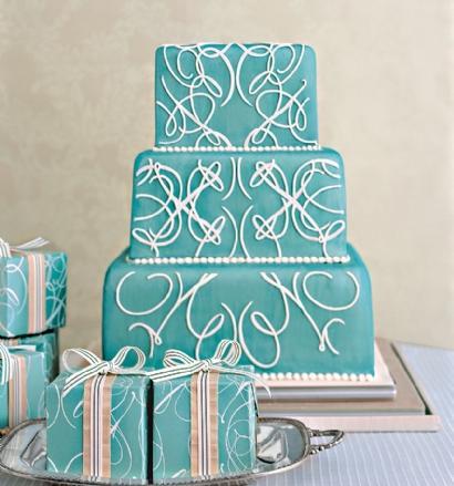 Modré torty inšpirácie - Obrázok č. 19