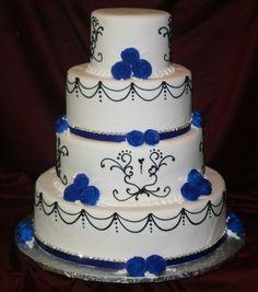 Modré torty inšpirácie - Obrázok č. 20