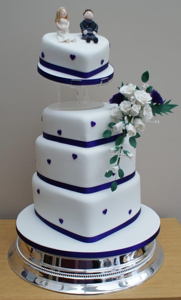 Modré torty inšpirácie - Obrázok č. 21